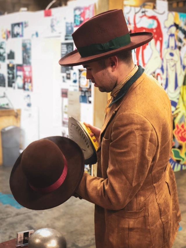 Blake Canham-Bennett Blakesby Hats Adelaide