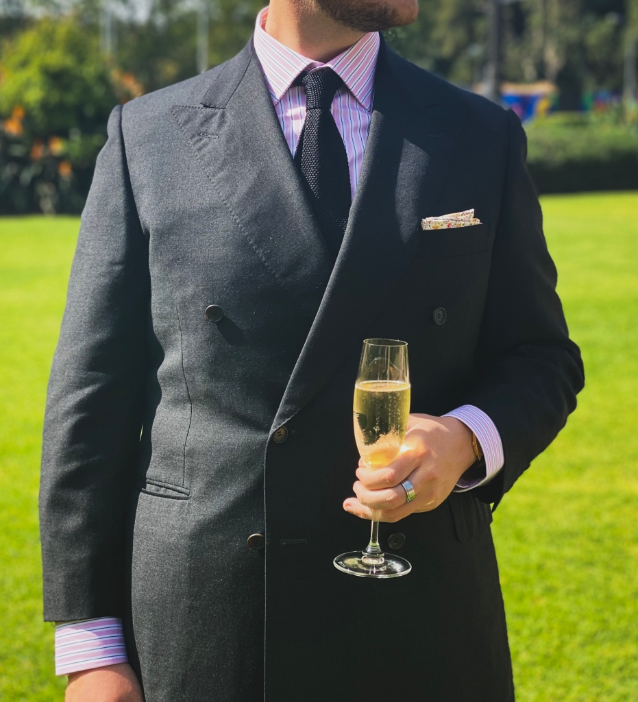 canali double breasted suit