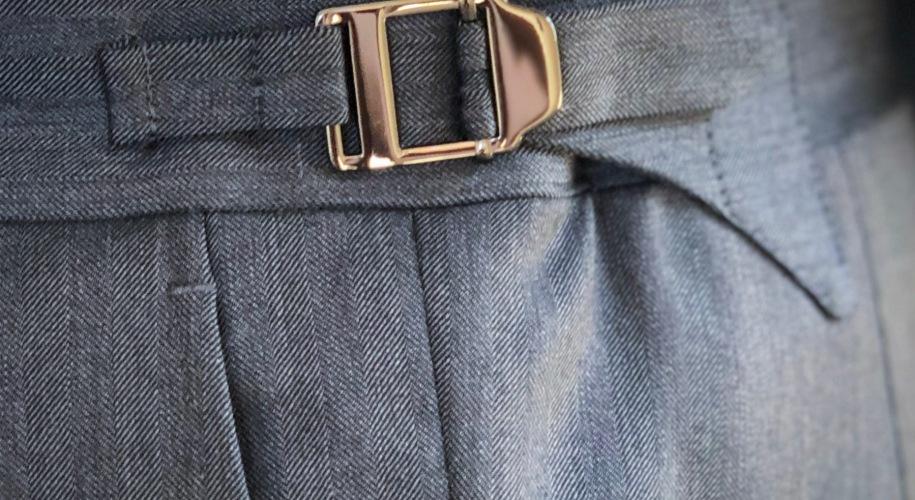 trouser side tabs
