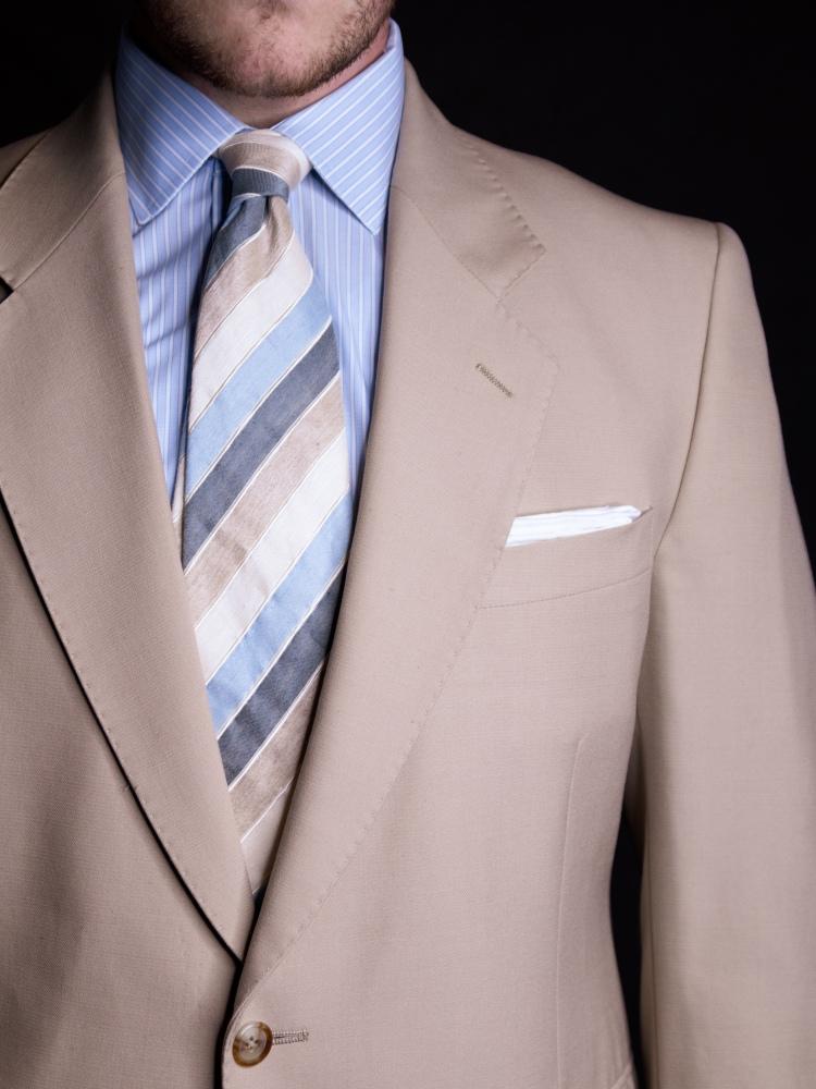 Beige Tan Suit Australia