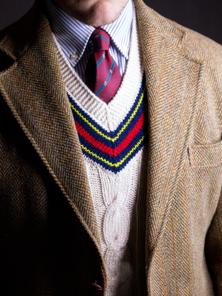 Harris Tweed and Cricket Sweater Ivy Style