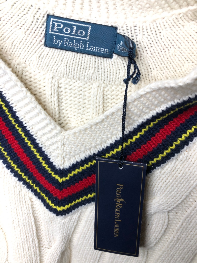 Genuine Polo Ralph Lauren Sweater Authentic Check