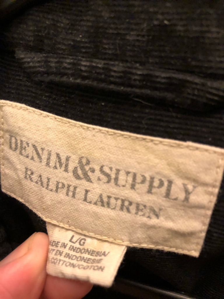 RL Denim and Supply Tags