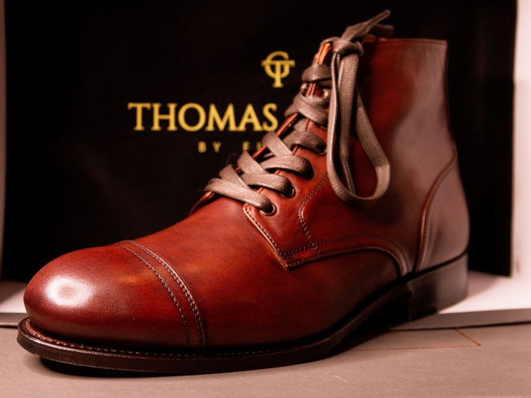 Thomas George Collection Brooke Cap Toe Service Boot Review