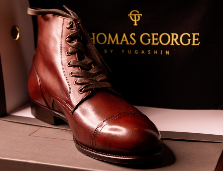 Cap Toe Service Boot Goodyear Welted Review Australia Thomas George