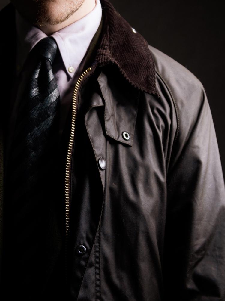 Barbour Beaufort Corduroy Collar