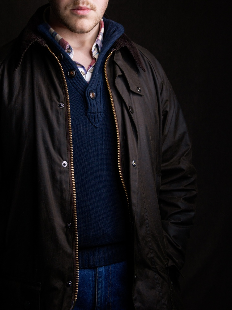 Barbour Beaufort Casual Outfit