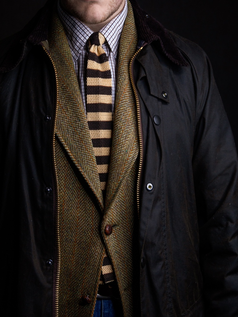 Barbour Classic Beaufort and Tweed Jacket Outfit