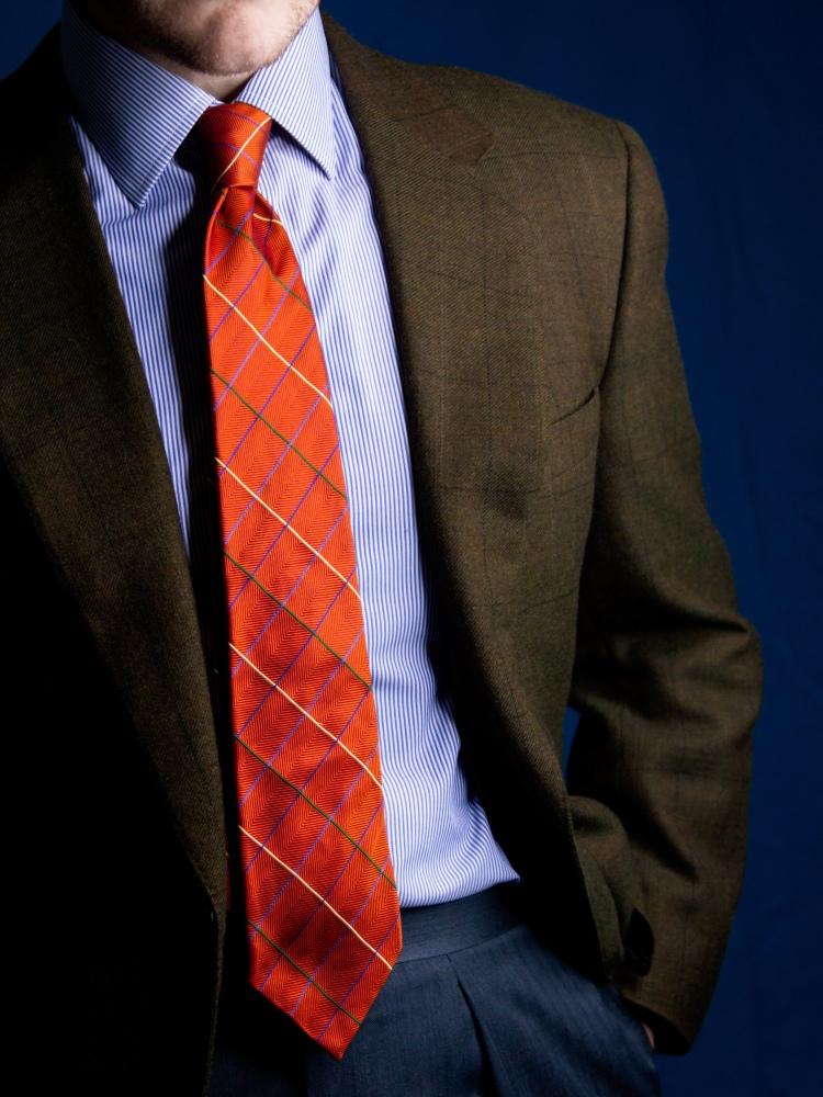 Canali Charles Tyrwhitt Turnbull Asser Classic Menswear Outfit