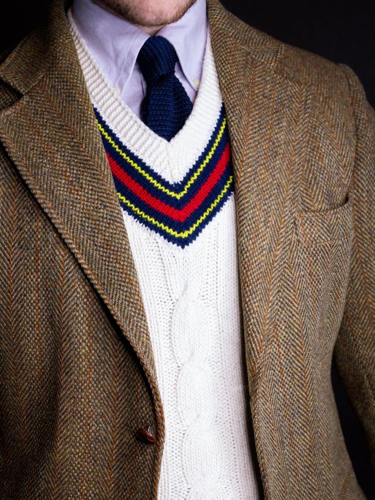 Harris Tweed Jacket Outfit Australia