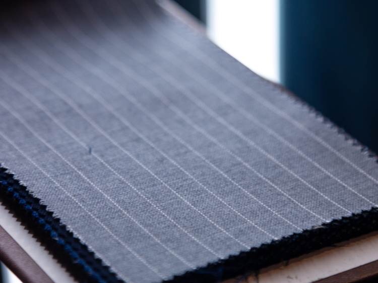Carnet New York Pinstripe Suit Fabric