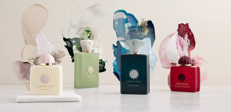 Amouage 2020 New Fragrances Reviewed - Ashore, Crimson Rocks, Enclave, Meander