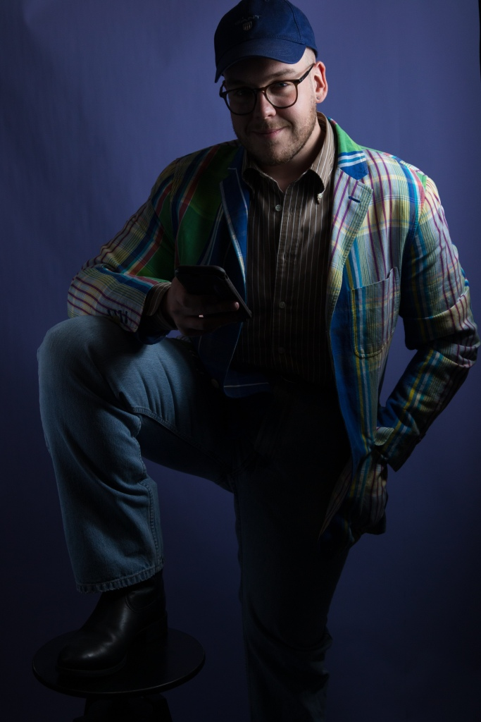 Ralph Lauren style - madras jacket and cowboy boots