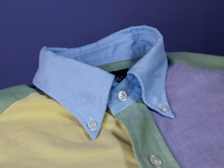 Drakes Oxford Fun Shirt customised for 8 colours