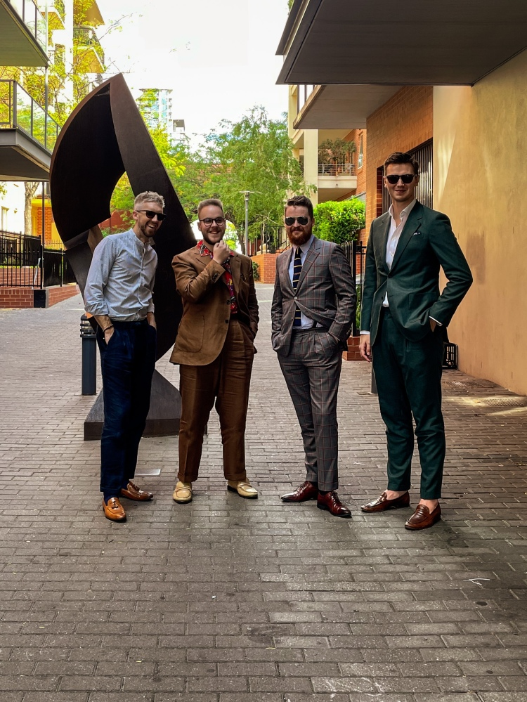 Sartorial Social Club Adelaide - a community for those interested in tailoring