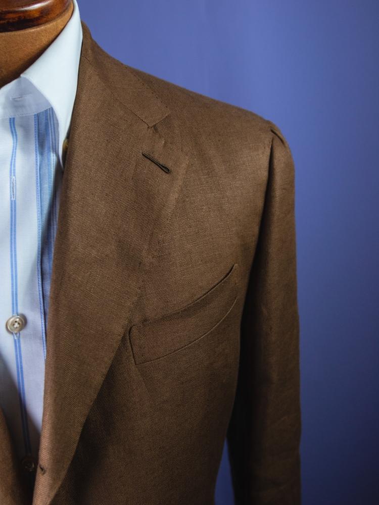 Baird McNutt Irish Linen suiting cloth design and review