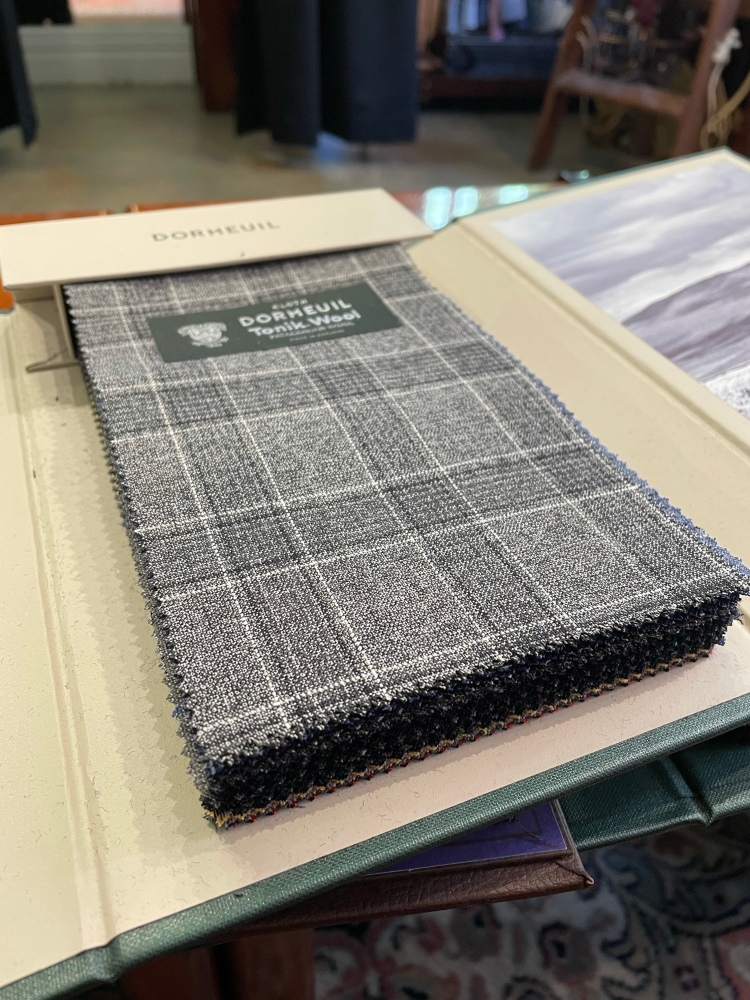 How to determine the best quality resilient fabric and cloth - Dormeuil Tonik Wool
