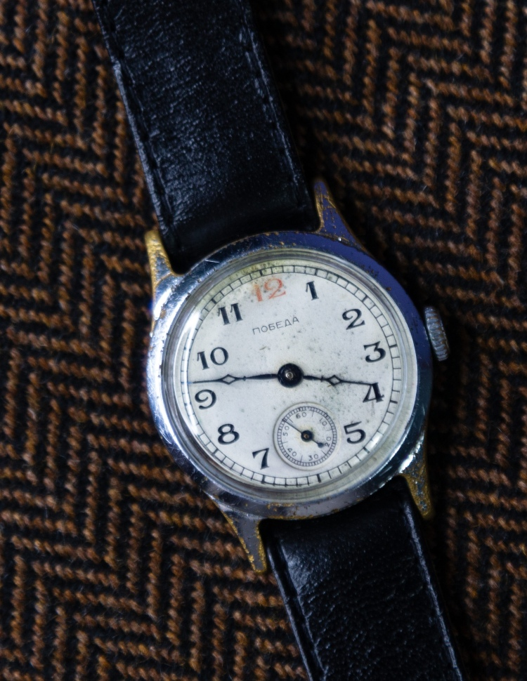 Pobeda Red 12 Chistopol Watch Factory Q2 1955