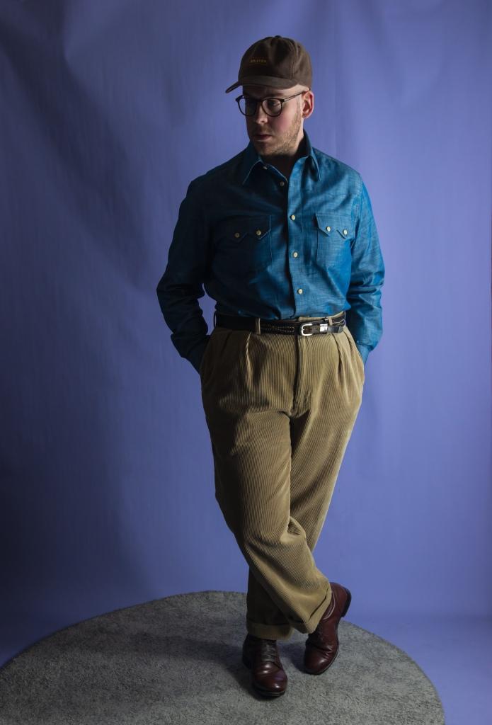 Designing a made to measure denim sawtooth western shirt - Beg Your Pardon