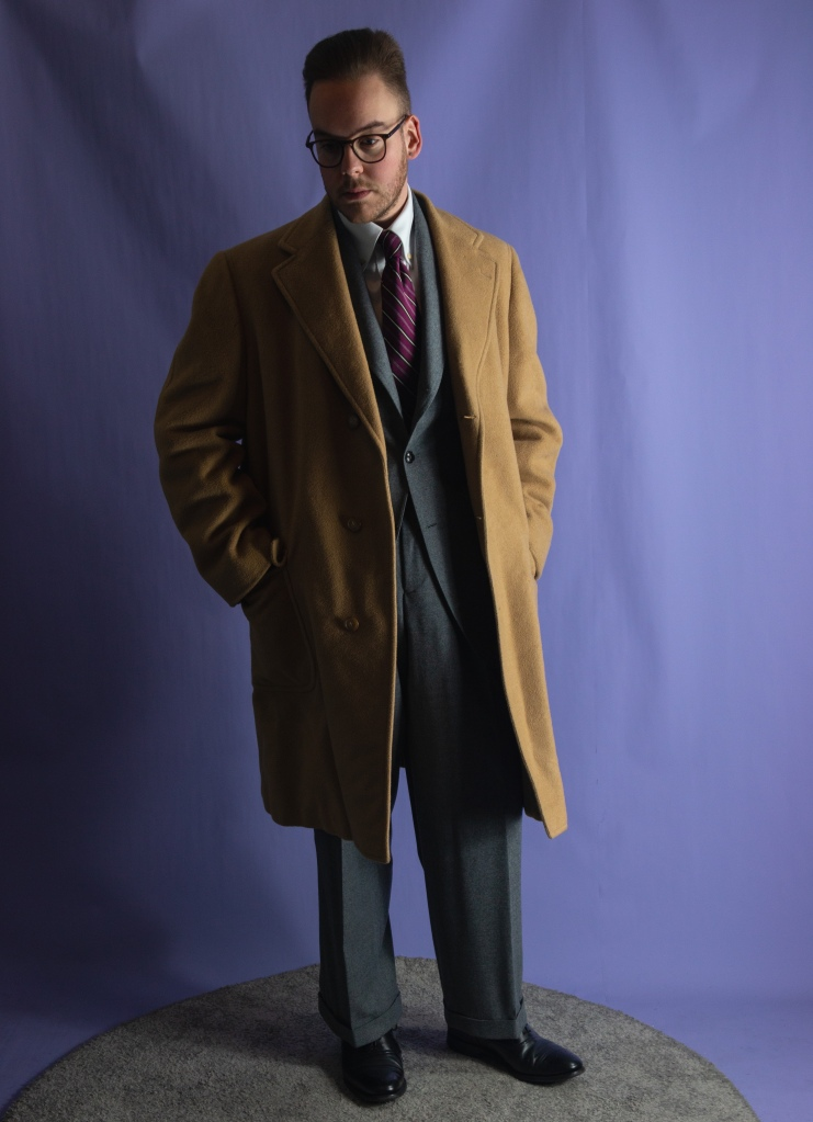 My homage to the suit from It Happened One Night