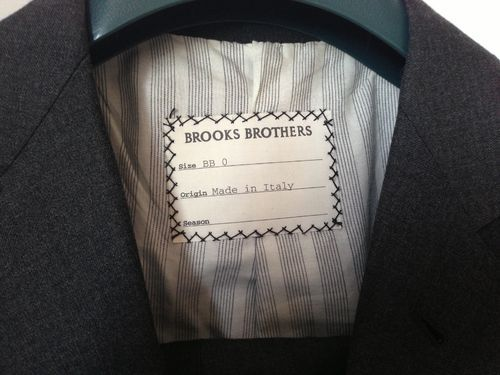 Brooks Brothers Black Fleece label Guide to Brooks Brothers sub brands and diffusion lines