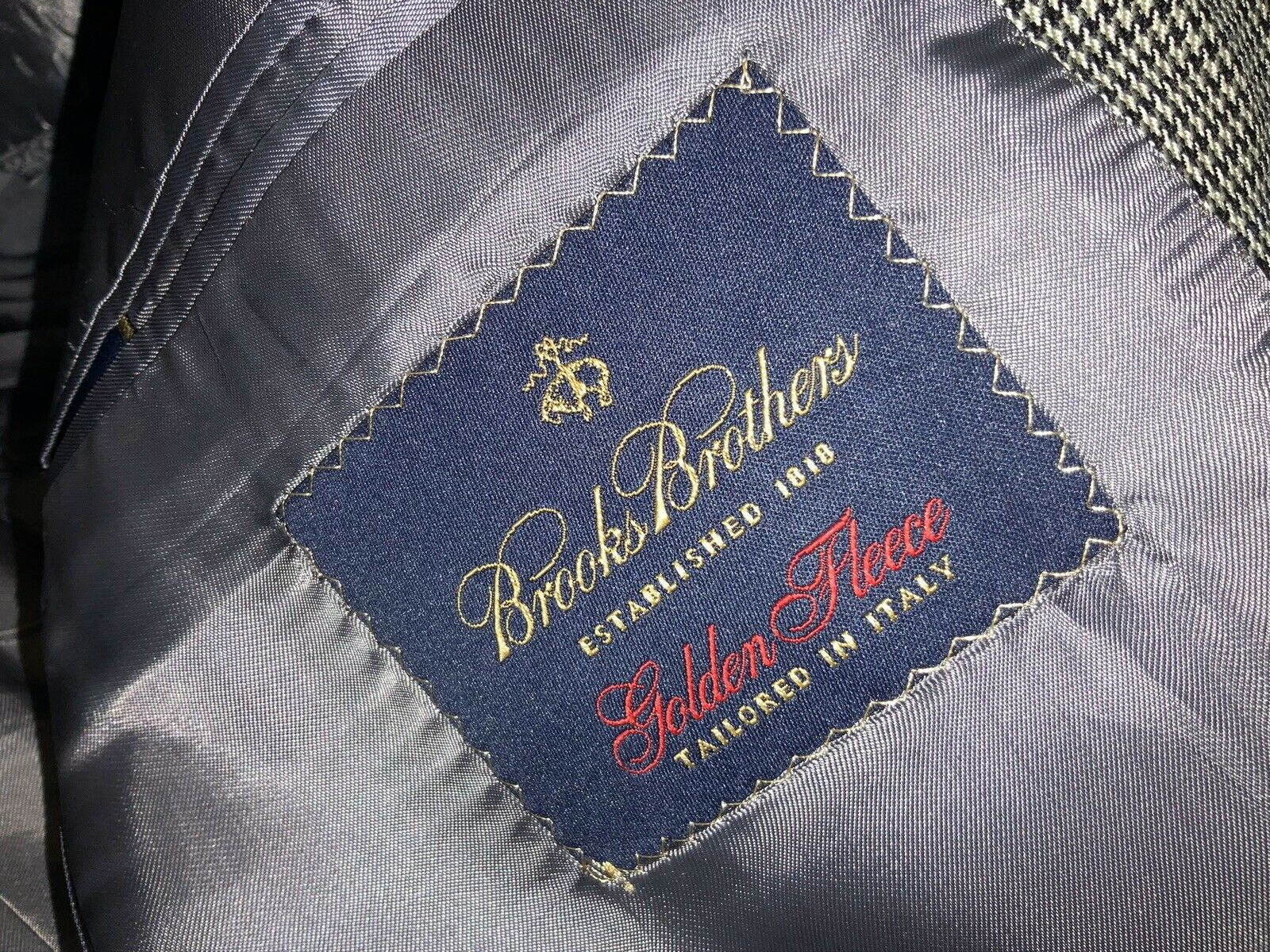 Brooks Brothers Golden Fleece Label - Guide to Brooks Brothers Lines and Sub brands